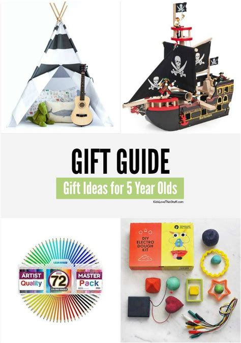 gift ideas for a 5 year gift ideas for 5 year olds 17 cool 2015 presents