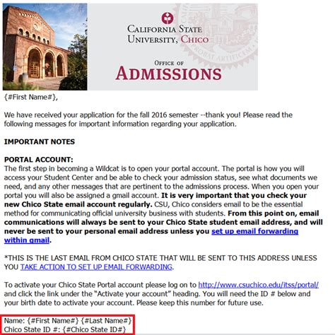 state email locate your chico state id number it support services