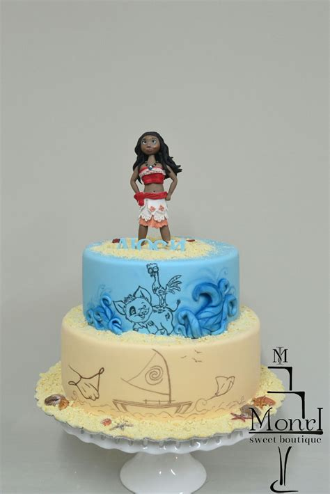 Simple Birthday Party Decorations At Home by Moana Cake Cakecentral Com