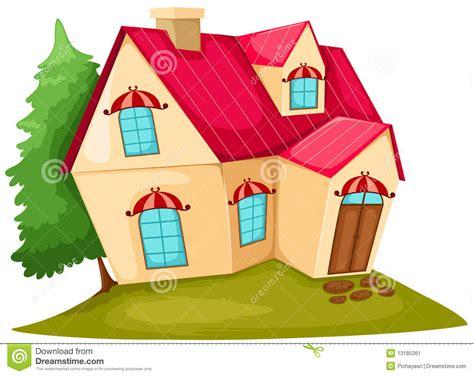 haus comic house stock image image 13185361