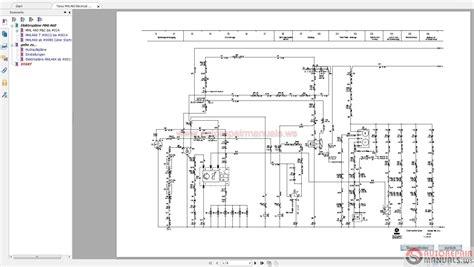terex excavator wiring diagrams wiring diagram
