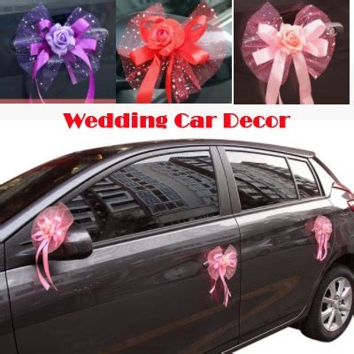 Wedding Car Deco by Wedding Car Decoration Pink Www Pixshark Images