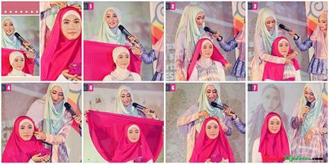 tutorial hijab pesta ala marshanda hijab