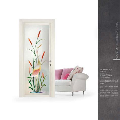 porte interne con vetro satinato porte interne con vetro decorato artistico mdb portas