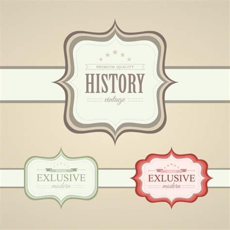 imagenes vintage vectores gratis dise 241 o de etiquetas vintage descargar vectores gratis
