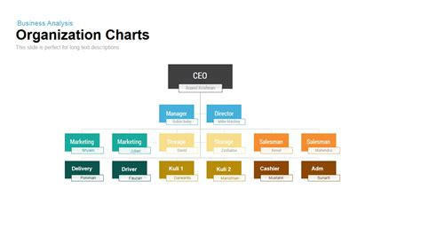 Organization Charts Powerpoint And Keynote Template Slidebazaar Powerpoint Org Chart Templates