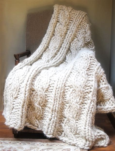 knitting pattern throw chunky chunky alpaca afghan knitting pattern jess wrobel
