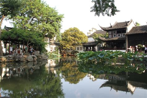 Garden China by Lingering Garden In Suzhou China Org Cn