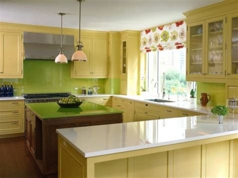 green and kitchen cheerful summer interiors 50 green and yellow kitchen