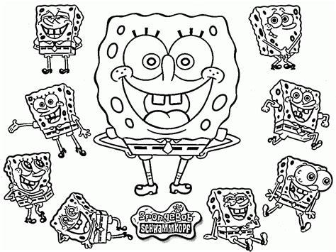 spongebob coloring pages happy birthday spongebob happy birthday coloring pages coloring home
