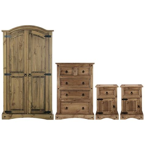 puerto rico bedroom furniture buy collection puerto rico 4 pc 2 dr wardrobe package