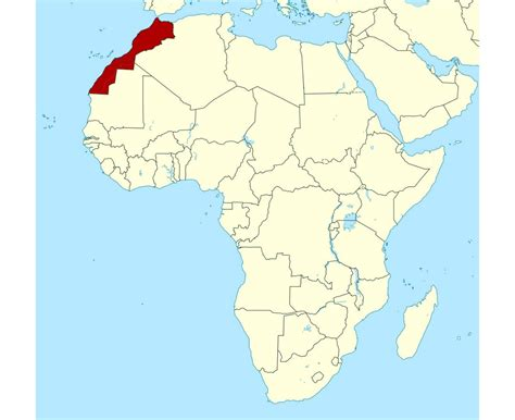 africa map morocco maps of morocco detailed map of morocco in