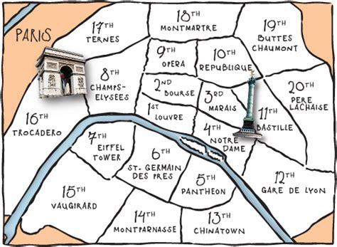 paris sections map of paris showing the arrondissements miss phryne