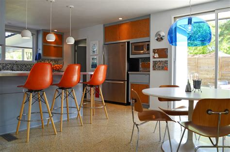 mid century modern kitchen lighting 50s remodel the doodle house