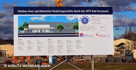 Baustellenschild Kaufen by Wir Haben Ihr Bauschild Koslitz Werbeanlagen Gmbh