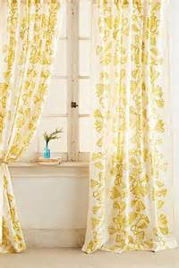 Curtains Botanical Print Anthropologie Botanical Print Curtains For The Home