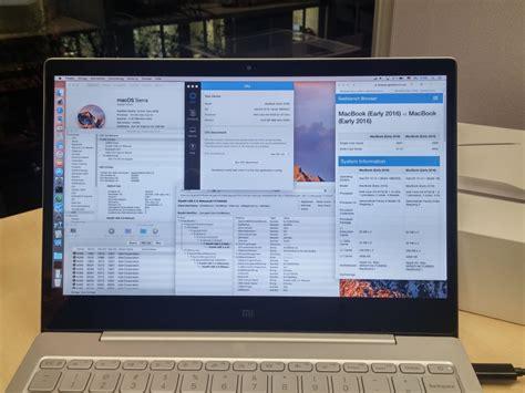 Xiaomi Mac installation macos 10 12 auf xiaomi mi notebook