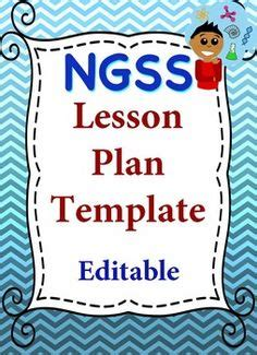 Ngss Lessons Teaching Ngss K 12 Pinterest Lesson Plans Curriculum And Exploring Next Generation Science Standards Lesson Plan Template