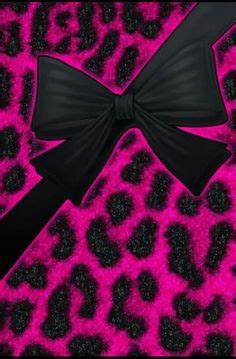 wallpaper with pink bows leopard iphone wallpaper girly wallpapers iphone things