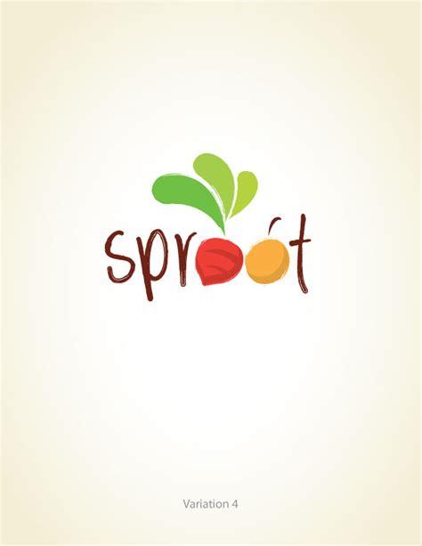 design a logo for fun upmarket playful logo design for sproot by lisa design