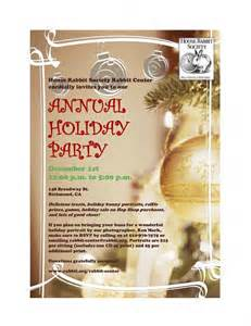 please join us for our annual holiday party on dec 1st