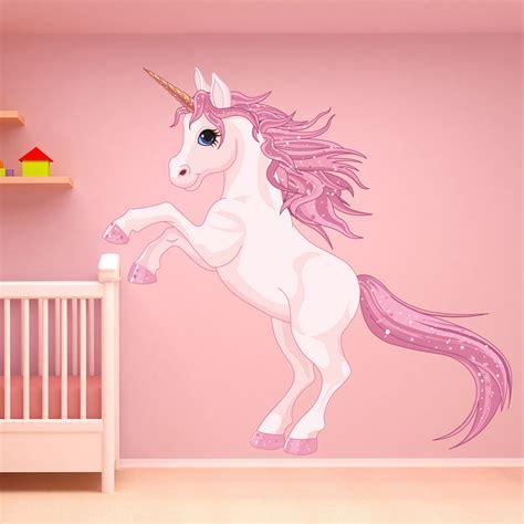pink unicorn wall decal sticker ws  ebay