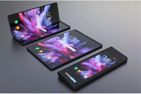 Samsung Galaxy S10 Foldable by The Foldable Galaxy F May Cost The Price Of A Premium Phone To Be Unveiled With The S10