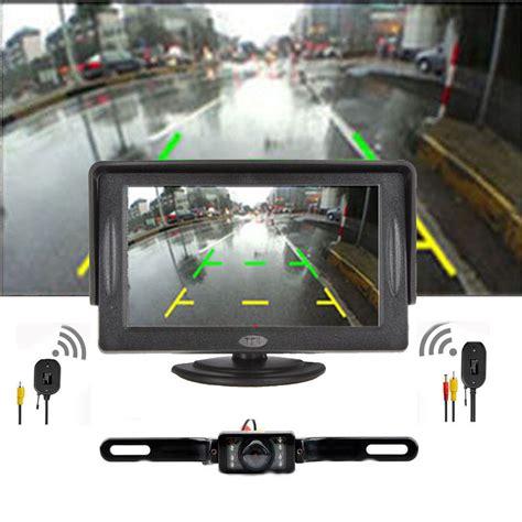 Monitor Lcd Vision Kamera car backup rear view system vision wireless