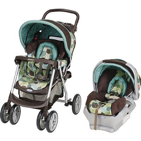 pram car seat combo two tuminos and a baby travel system stroller car