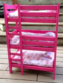 Dolls Bunk Beds White Doll Bunk Bed Diy Projects