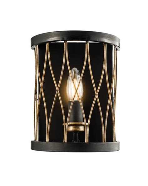 Decorative Wall Lights For Homes Endon Heston Modern Brass Decorative Wall Light 61499