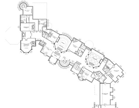 mega homes floor plans floor plans to the 25 000 square foot utah mega mansion