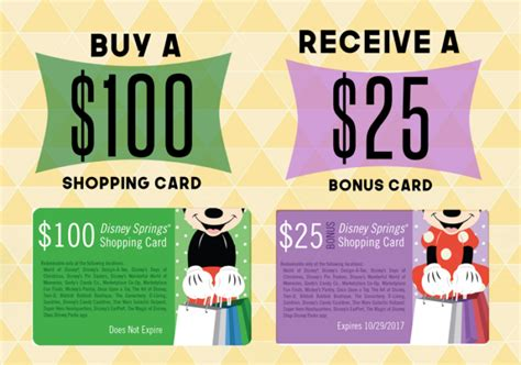 How To Get Free Disney Gift Cards - how to get a free 25 shopping card for disney springs disney s cheapskate princess