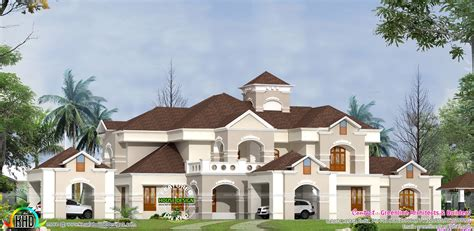 luxury home plans with pictures super luxury villa design in kerala kerala home design