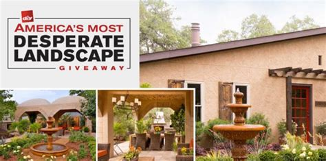 Hgtv Desperate Landscapes Sweepstakes - diy network is looking for america s most desperate landscape