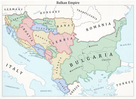 balkans map germany of the balkans by fenn o manic on deviantart