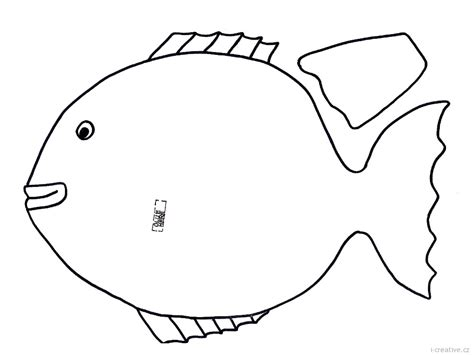 fish coloring template best photos of tropical fish outline fish templates