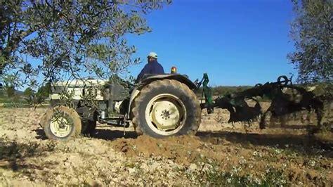 Lamborghini 775 F by Lamborghini 775 F Tractor Ploughing
