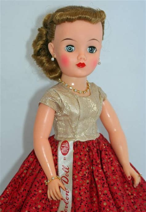 fashion doll vintage original dress ideal miss revlon vt 18 vintage 50 s 18