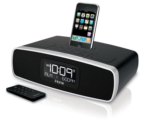 ihome dual alarm clock radio for iphone ipod am fm