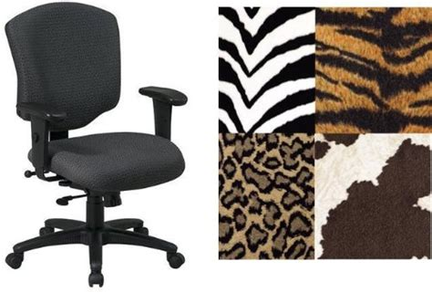 office 41573 tiger animal print heavy duty office