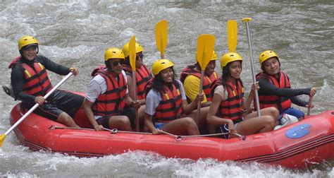 Rafting Going To Jogja Barack Obama Family Go White Water Rafting On Bali