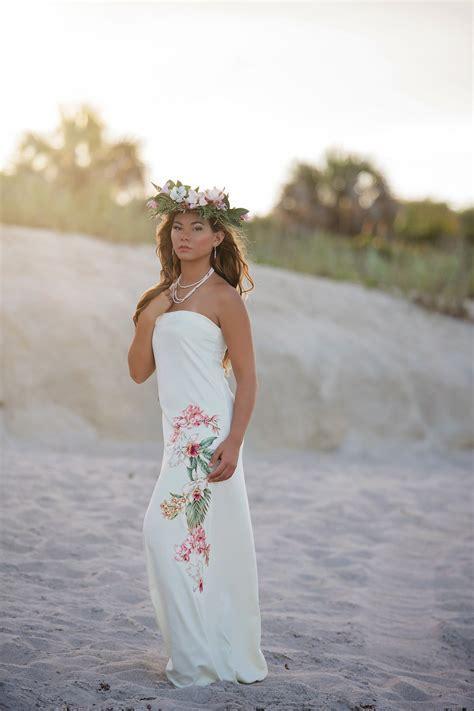Best Hawaiian Wedding Dress Images On Pinterest Wedding