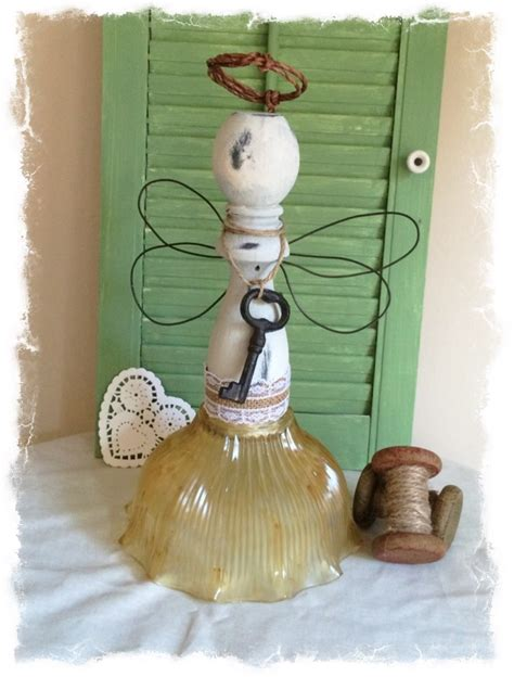 angel home decor repurposed spindle angels home decor mixed kreations
