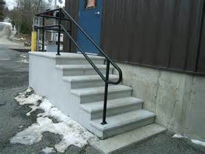 Outdoor Metal Handrail Stairs Amazing Exterior Stair Handrail Extraordinary