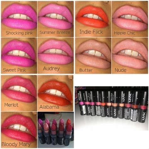 nyx lipstick colors nyx lipstick shades i pictures like this that show
