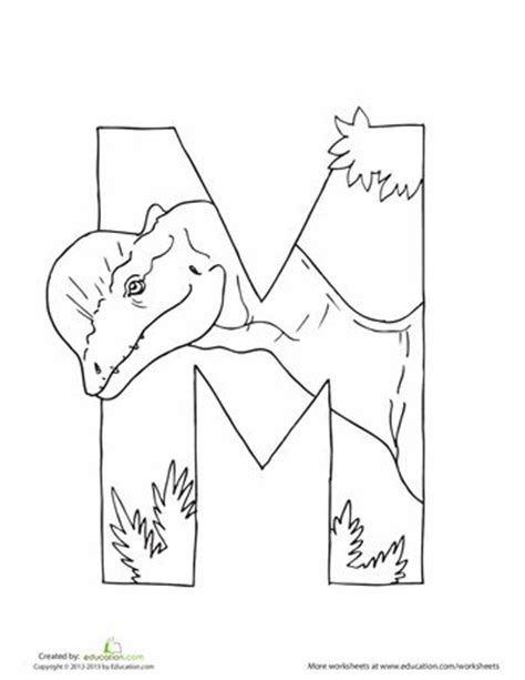 dinosaur alphabet coloring pages dino alphabet printable letters pinterest coloring