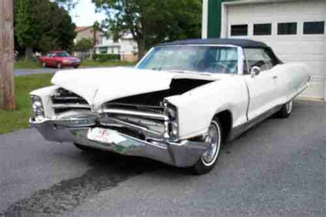 how to fix cars 1966 pontiac bonneville auto manual find used 1966 bonneville convertible complete project not rusty in strausstown pennsylvania