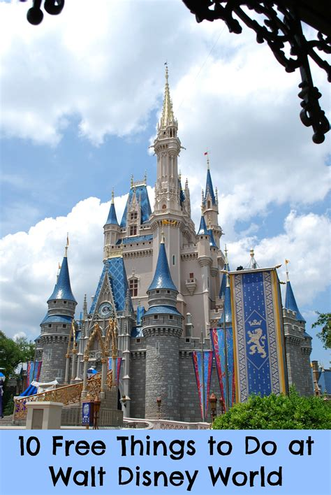 walt disney world 10 free things to do at walt disney world