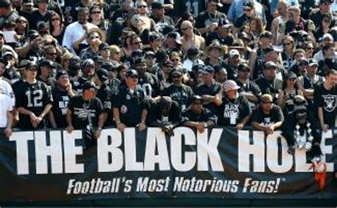 raiders black hole section seahawks expecting ghoulish halloween in oakland seattle